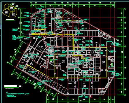 16层办公楼全套电气施工图纸