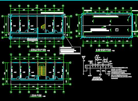 两层综合楼电气设计图纸