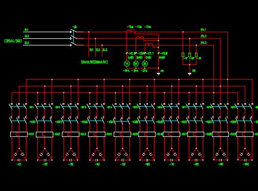500KVA箱式变电站全套图纸