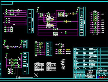 35kV变电站配电施工图纸