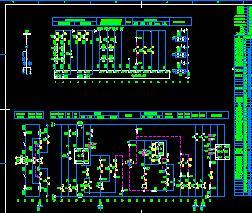进线及控制电源柜电器控制原理图