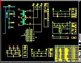 10KV变电所图纸v图纸电气免费下载-图纸图纸二维工作台电气图片