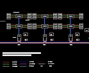 智能化住宅小区电气系统设计图纸