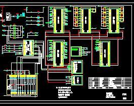 综合办公楼变电站电气施工图纸