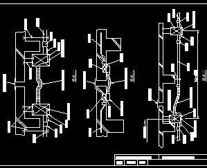 10KV变电所金属管图纸v图纸图纸免费下载-电配线履带图片