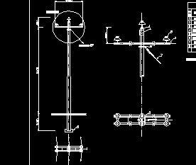 10kV配电线路设计图纸免费下载图片