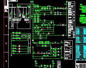 35KV配电柜电气原理图纸
