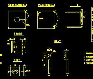110KV线路工程电气接线图纸