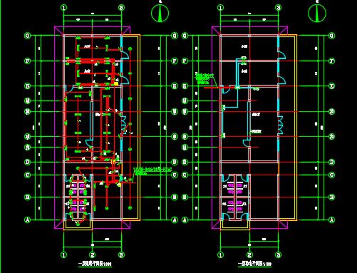 单层便民服务中心电气施工图纸
