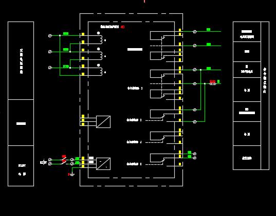 220KV变电站全套电气设计图纸(34张图)