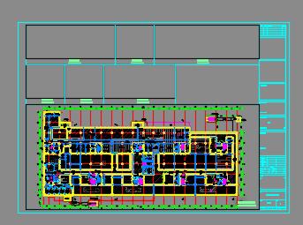 大型知名博物馆全套电气施工图