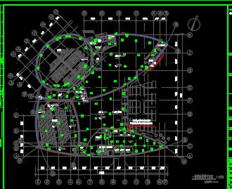 大型博物馆电气施工图纸