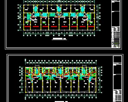 大厦电气施工图纸