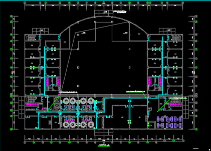 九层综合楼电气施工图纸