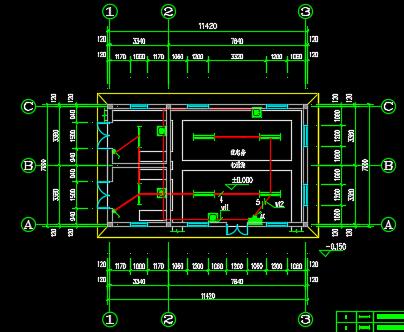 配电房设计图纸