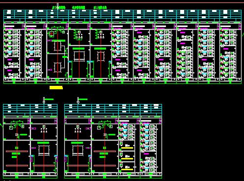 MNS柜总装设计图纸
