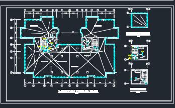 某28层高层住宅电气平面图