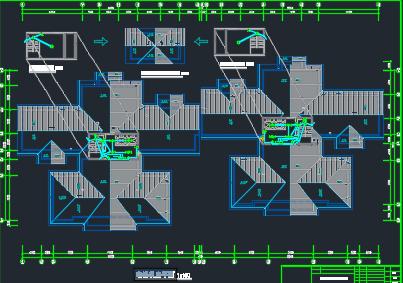 某20层商住楼强电图纸
