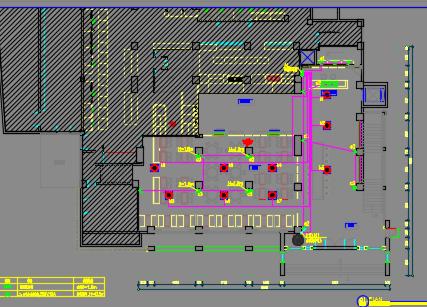 某酒楼餐厅电气施工图纸