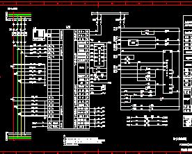 PC分段开关接线电气设计图