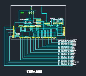 某宾馆10、11楼客房改造电气图