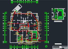 某18层住宅电气施工图