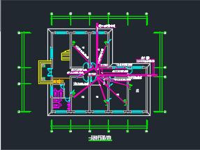 办公楼电气系统图纸