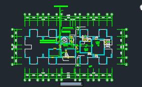 大学单身公寓强弱电施工图