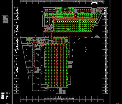 四层后勤综合楼电气施工图纸