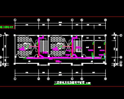 某三层教学楼电气施工图纸