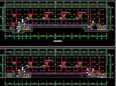 三层生产厂房电气施工图纸