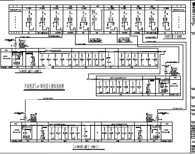 住宅小区一户一表工程电力系统设计图纸(PDF格式)