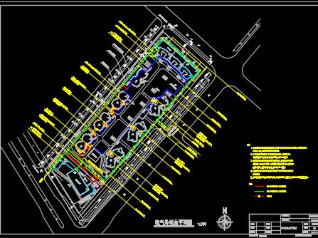 高层住宅楼电气施工图纸
