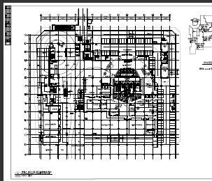 超高层综合楼水电暖施工图纸