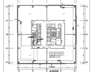 高层办公贸易综合楼电气施工图纸