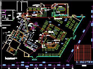 中餐厅电气立体图