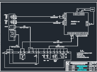 净水厂改扩建一期工程电气工程设计图纸