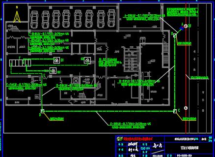 某医院10kV配电工程电气设计图纸