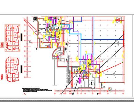 某小区地下室电气施工图纸