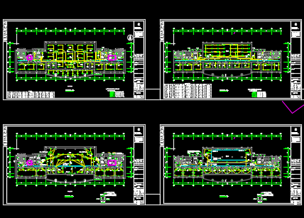 某框架结构医院拆迁工程电气施工图纸