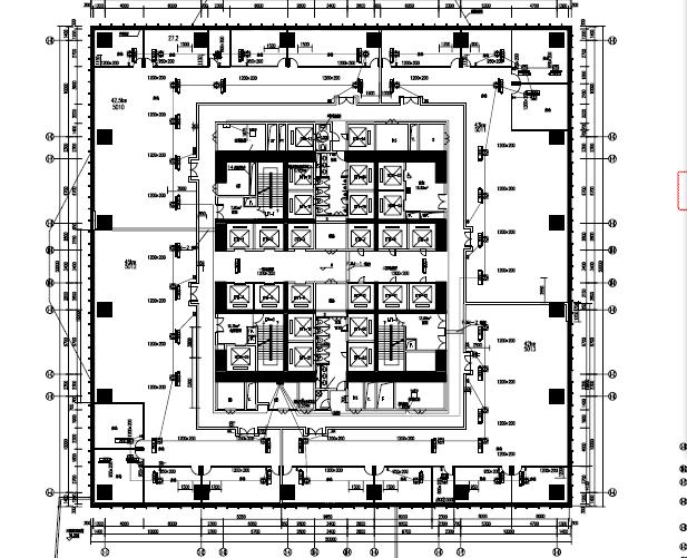 三十八层酒店电气施工图纸(PDF格式)