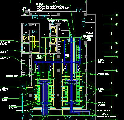 某办公楼变电站系统图