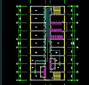 二层宿舍楼强电电气施工图纸