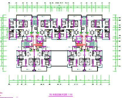 三十图纸住宅六二层图纸电设计设计强弱(含给宜家配送项目施工中心图片