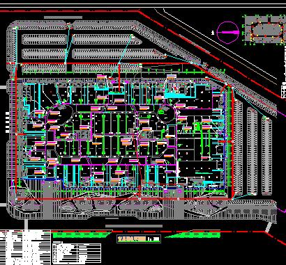 某广场弱电智能化设计施工方案图