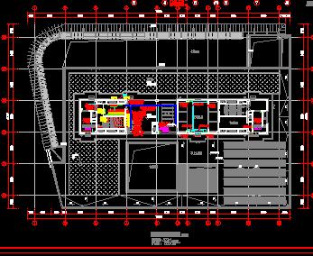 商业综合体建筑项目电气施工设计图及计算书