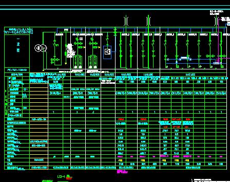 框架结构机场扩建工程地下停车楼电气施工设计图