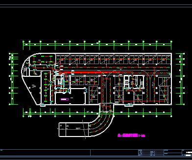十六层框架结构一类高层建筑综合大楼全套电气施工图纸