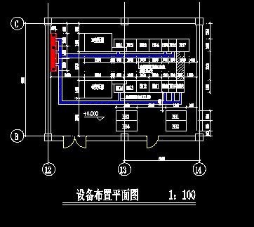 某配电室项目电气施工设计图