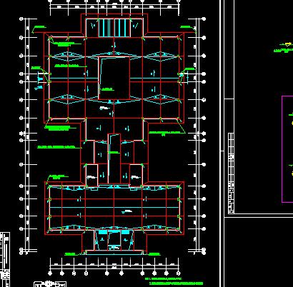 三层综合教学楼工程电气施工设计图